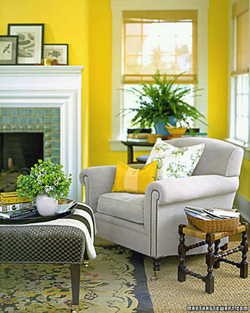 Yellow Paint Colours For Decorating, Yellow Paint Colors For Living Room